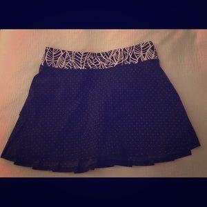 Lululemon Pacesetter skirt like new size 8